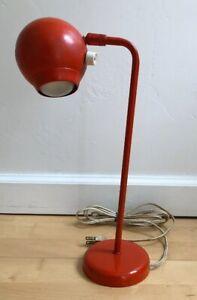 Mid-Century-Underwriters-Laboratories-portable-lamp-c-873-Orange-Cool-Groovy-Man