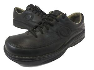 Merrell-World-Council-Casual-Lace-Up-Shoes-Oxfords-Black-Leather-Mens-Size-US-9