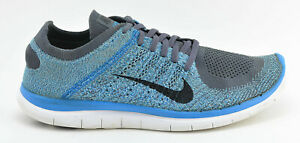 sports shoes 10153 88f79 Image is loading MENS-NIKE-FREE-4-0-FLYKNIT-RUNNING-SHOES-