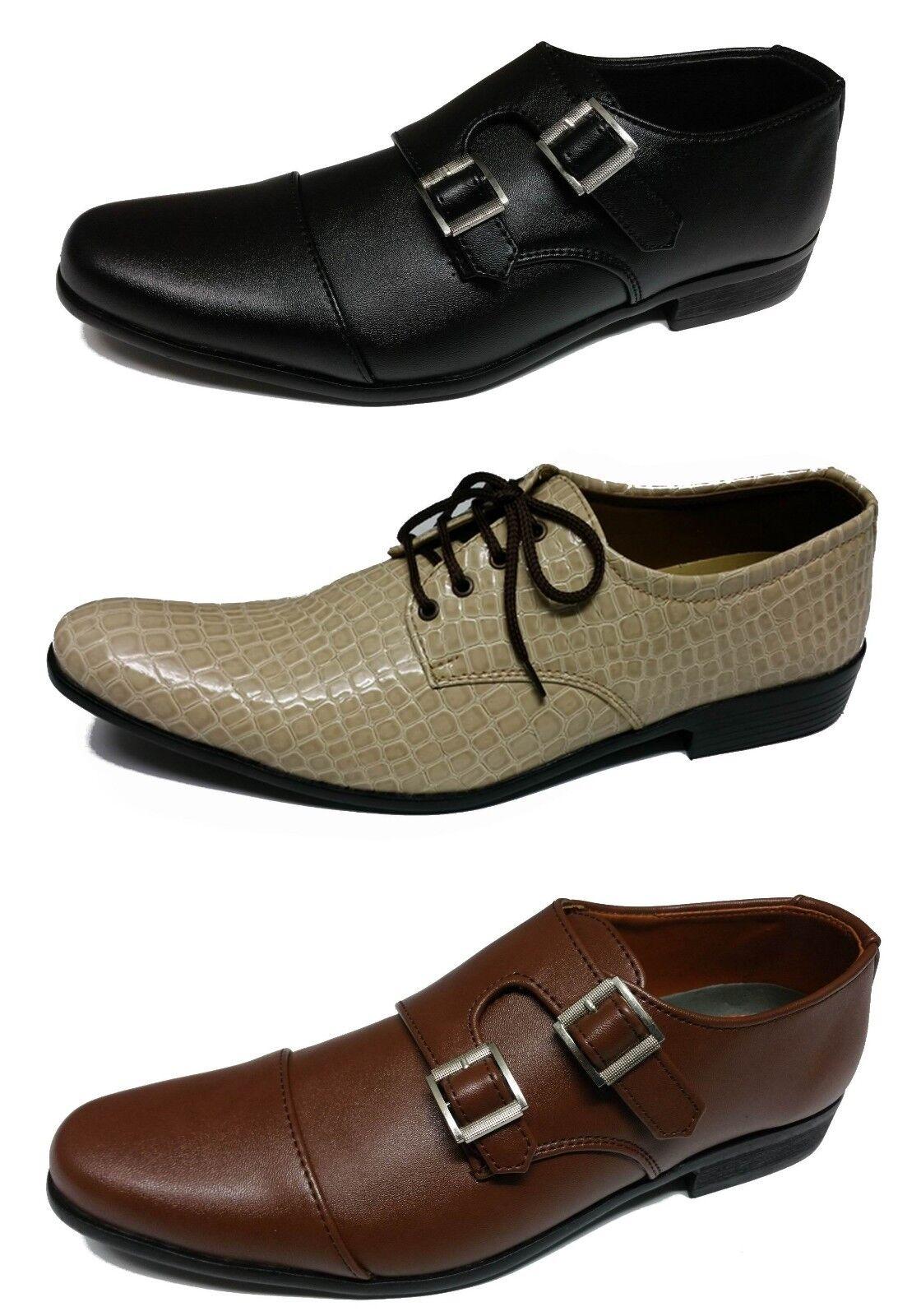 Shumaxx Hombre Zapatos Hombre BURLINGTON FORMAL DRESS Style Hombre Zapatos CREAM Negro 2ba3fc