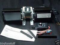 Heat N Glo Heatilator Direct Vent Fireplace Factory Blower Kit Gfk-160b