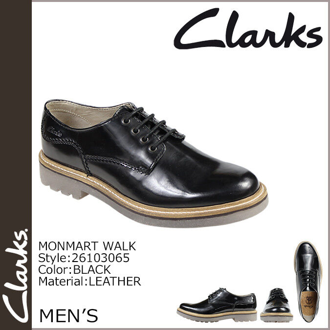Clarks Da Uomo ** SMART Monmart Walk ** Castagno o Neri in Pelle ** Uk 10 G