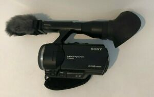 SONY-NEX-VG30E-Body-Full-HD-Camcorder-incl-4-BATTERIES-great-condition
