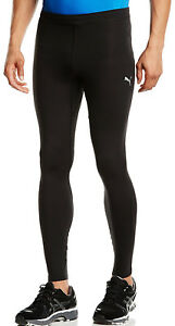 CompéTent Puma Essential Long Compression Homme Running Collants Noir Gym Sports Training-afficher Le Titre D'origine