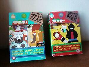 South Park Series 1 & series 3 Box Set bundle dvd