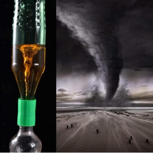 10 stk Flaschentornado Flaschen Wirbelrohr Tornadoadapter Experiment