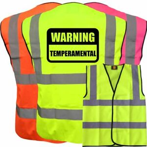 Other Kids' Clothing & Accs Hi Viz Vis Warning Temperament Kids Vest Fancy Dress Custom Joke Waistcoat Child With The Best Service Clothing, Shoes & Accessories