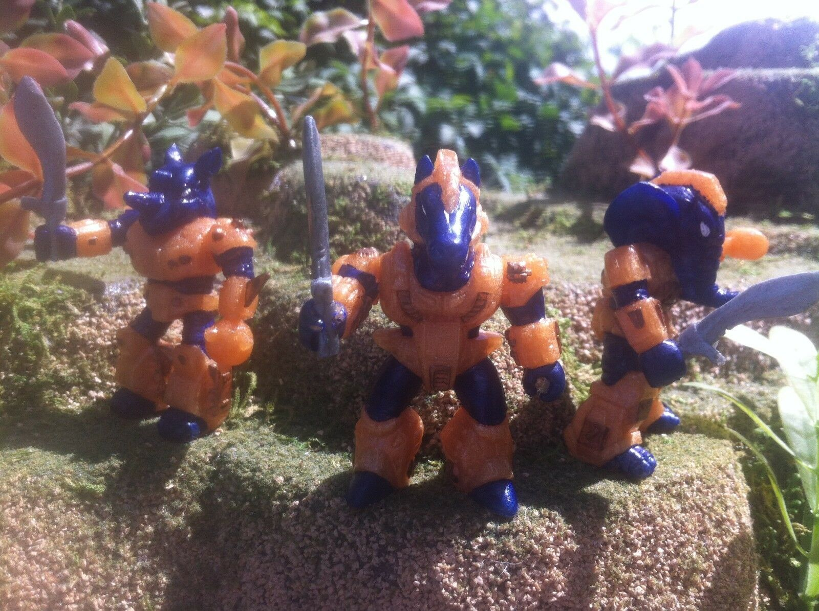 Battle Beasts Laser Beasts Royal Indian Guard Lot of 3 American made