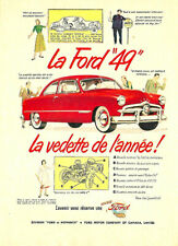 """1940 Ford /""""A Christmas to Remember/"""" Illustration 8x10 Reprint Garage Decor"""