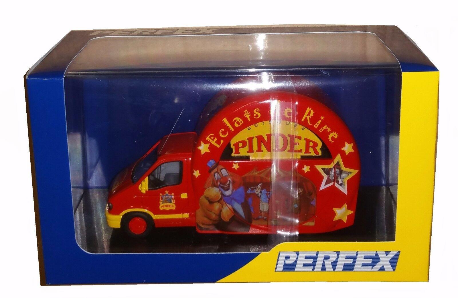 Miniature de Collection RENAULT MASTER CIRQUE PINDER Éclats de Rire 1/43