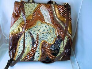 Vintage-SHARIF-NY-handbag-Mystery-of-the-Jungle-LE-26-of-36-1996-Leopard