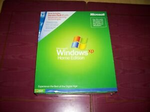 Microsoft Windows XP Home edition including Service Pack 2 ...