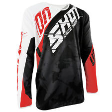 NEW ADULT SHOT CONTACT CLAW NEON BLUE RED MOTOCROSS MX ENDURO MTB DH JERSEY