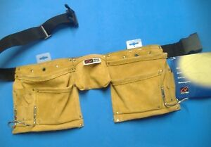 Details about GENAU GEAR ELEVEN POCKET TOOL BELT WITH TWO HAMMER HOLDERS  #4145
