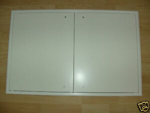 Tür Revisionstür 450 x 750mm weiss Revisionsklappe