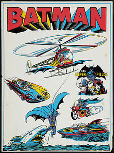 VINTAGE-BATMAN-AWESOME-1970-039-S-ADVERTISING-POSTER-PRINT-LOOKS-GREAT-FRAMED