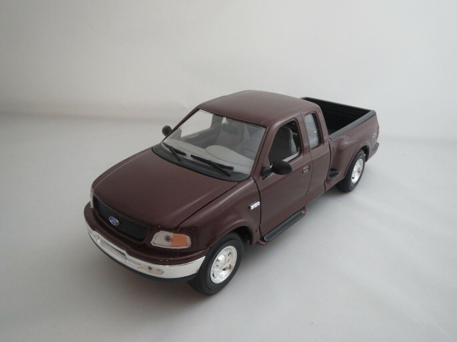 los clientes primero Mira ford f150  1998 1998 1998  (rojo marrón-metalizado) 1 18 sin embalaje   venta al por mayor barato