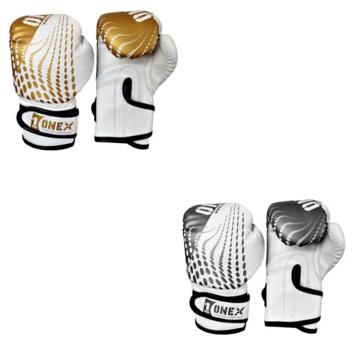 6oz Kids Boxing Gloves Punching Training Boxing Bag Mitts Gloves MMA Sparring R1