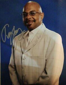 Theodore R. Long Teddy Signed 8x10 Photo WWE HOF WCW Wrestling COA