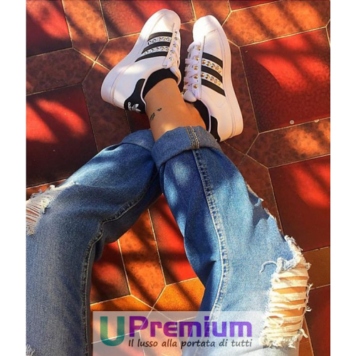 Adidas nuanciert Superstar besetzt nuanciert Adidas schwarz  Schuhe Original 10008c