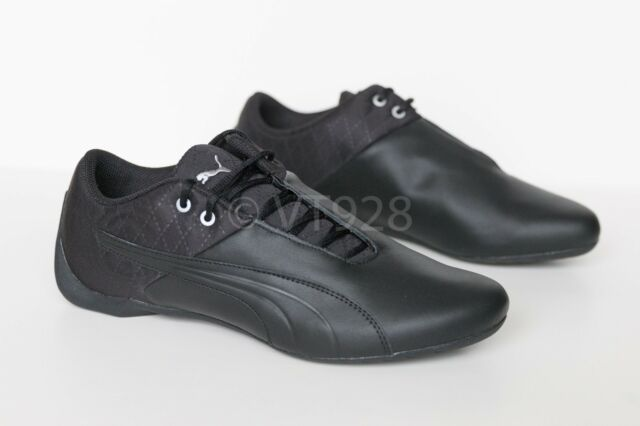 NEW PUMA FUTURE CAT REENG QUILTED MEN'S SHOES BLACK ALL SIZES