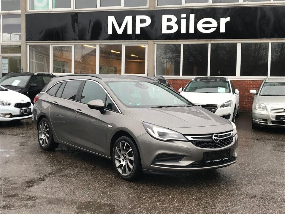 Opel Astra 1,4 T 125 Enjoy ST Benzin modelår 2016 km 94000 ABS