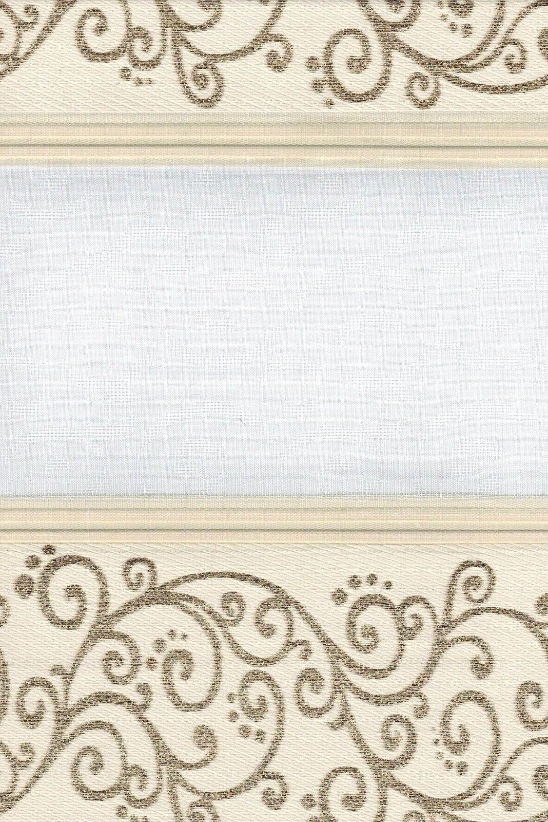 Art 1533-02 taillé taillé 1533-02 sur mesure Duo Rollo grimpant avec Treuil double store 59557a