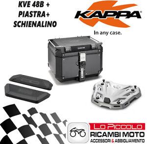 KTM 1050 ADVENTURE 2015 2016 KAPPA VALIGIA KVE48B + PIASTRA + SCHIENALE