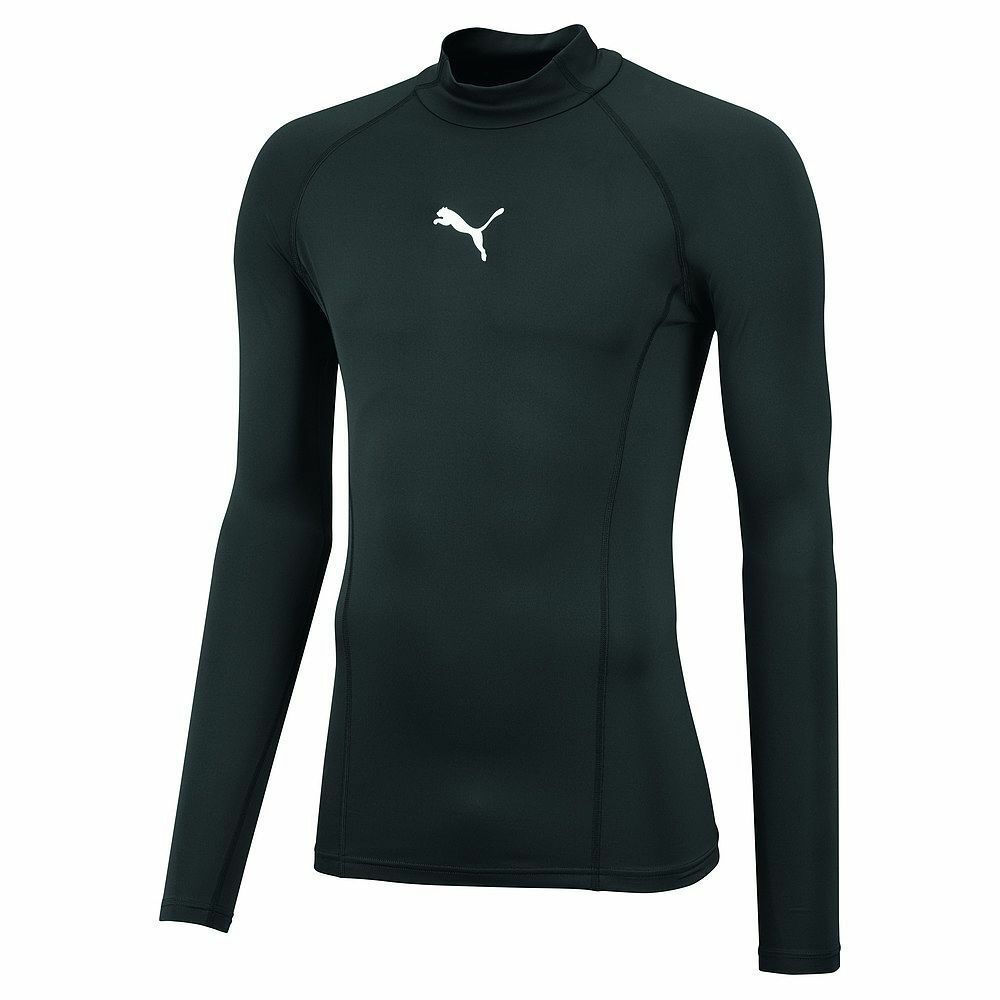 Puma Mens Sports Football Soccer LIGA Base Layer Long Sleeve Warm Tee Shirt Top