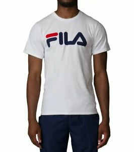Detalles acerca de Fila Camiseta Impresa Fila Para Hombre Blanco  LM153RW5-100- mostrar título original