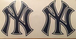 New-York-Yankees-Baseball-2-Decals-3-125-034-x4-0-034-Vinyl-Sticker-FREE-SHIPPING