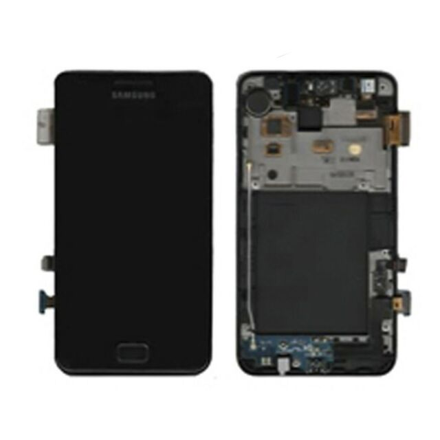 Écran Plein Samsung Galaxy S2 I9100G GH97-12354A Noir Original Nouveau