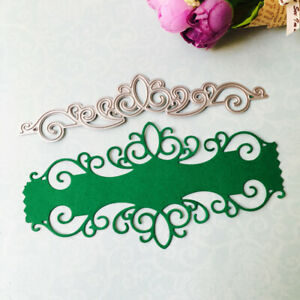 Card Lace Cutting Dies Stencil for Scrapbooking Paper Embossing DIY Metal Craft
