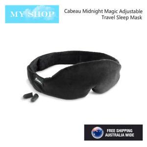 cd6e5db32 Image is loading Cabeau-Midnight-Magic-Adjustable-Sleep-Mask-amp-Earplug-