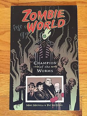 Dark Horse Comics ZOMBIE WORLD: CHAMPION OF THE WORMS TPB Mike Mignola 1998  | eBay