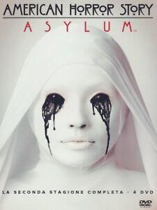 American Horror Story - Stagione 2 - Cofanetto Con 4 Dvd - Nuovo Sigillato
