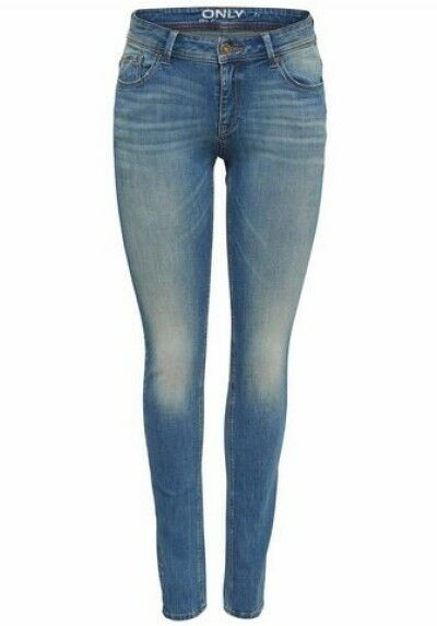 Carmen Jeans New Slim Fit Ladies Skinny Pants bluee Stretch Denim W25-W29 L30