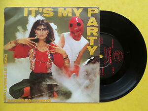 Dave-Stewart-with-Barbara-Gaskin-It-039-s-My-Party-Waiting-In-The-Wings-Ex