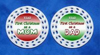 First Christmas As Mom Or Dad Porcelain Gift 3 Formats Mother Father 1st