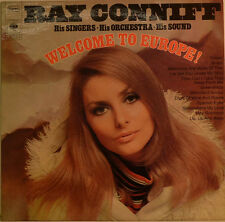 "RAY CONNIFF - WELCOME TO EUROPE 12"" LP (W73)"