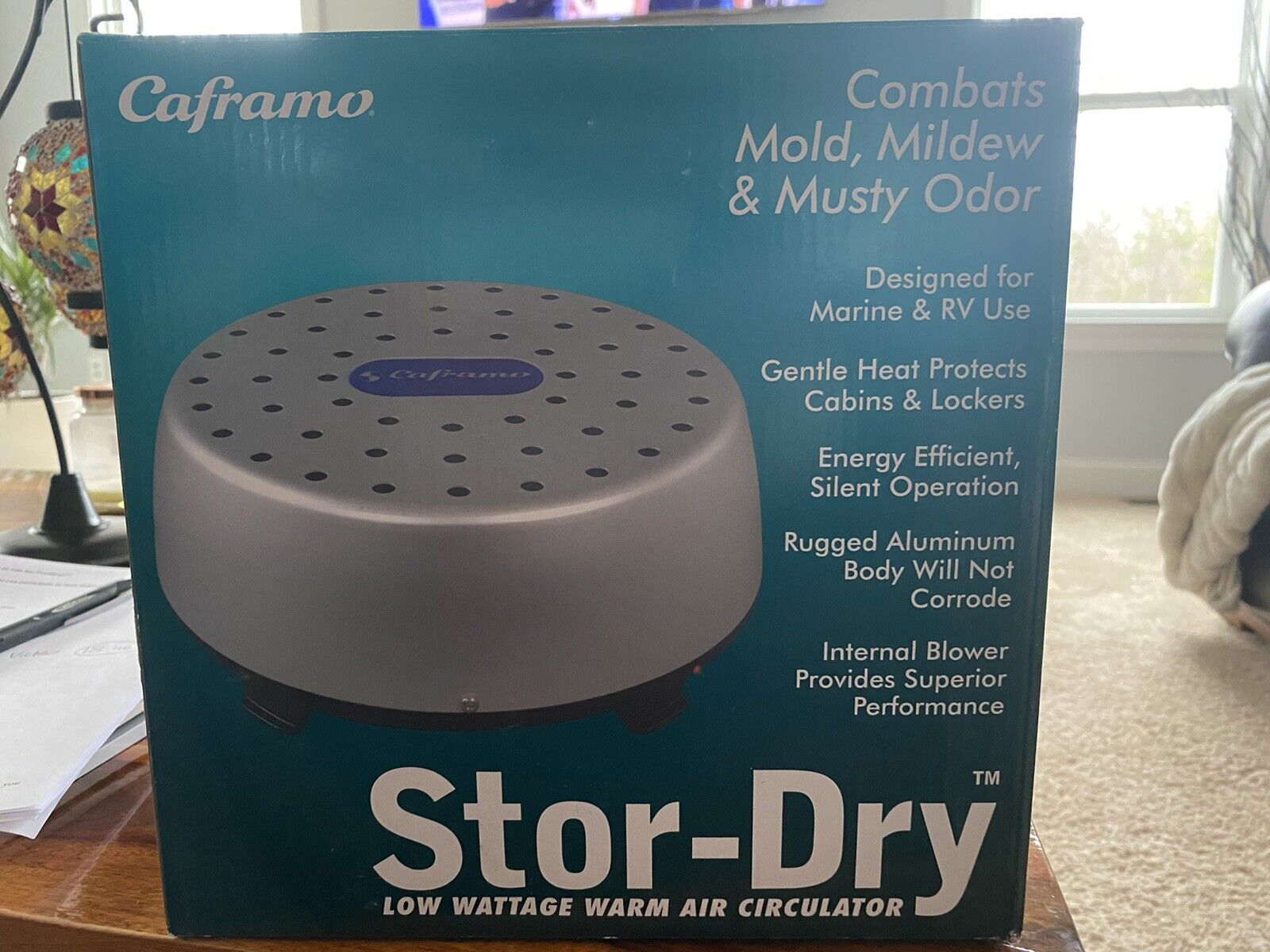 CAFRAMO STOR-DRY 110V WARM AIR CIRCULATOR DEHUMIDIFIER 75WATT