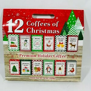 12 Coffees for Christmas Premium Holiday Gourmet Coffee ...