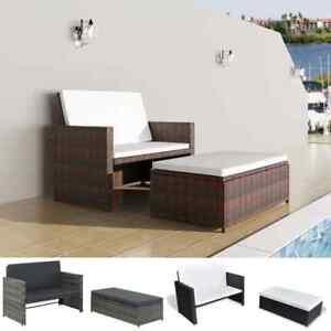 vidaXL-Gartenmoebel-5-tlg-Poly-Rattan-Sofa-Lounge-Sitzgruppe-mehrere-Auswahl