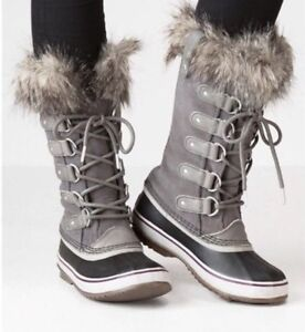 eb1fd7b9ef3a0 NEW Womens Sorel Joan of Arctic Winter Waterproof Boots  190 Size 8 ...