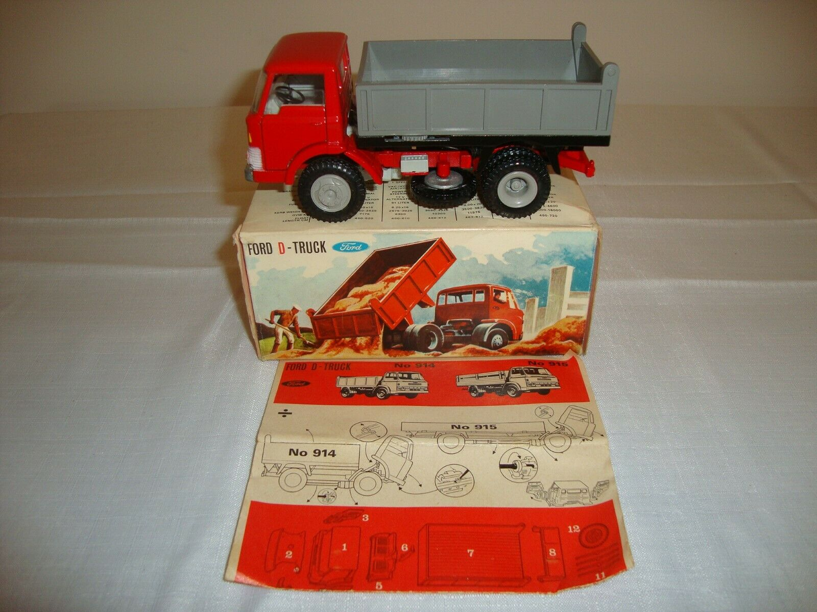 TEKNO (Danemark) Ford 914 D Camion-VN Comme neuf in original box