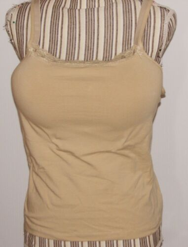 Wear /& Go Fully Padded Cotton Mastectomy Tank Top Stuffed Cups