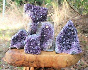 Clearance-Amethyst-Cut-Base-Crystal-Geodes-Natural-Quartz-Cluster-Specimens