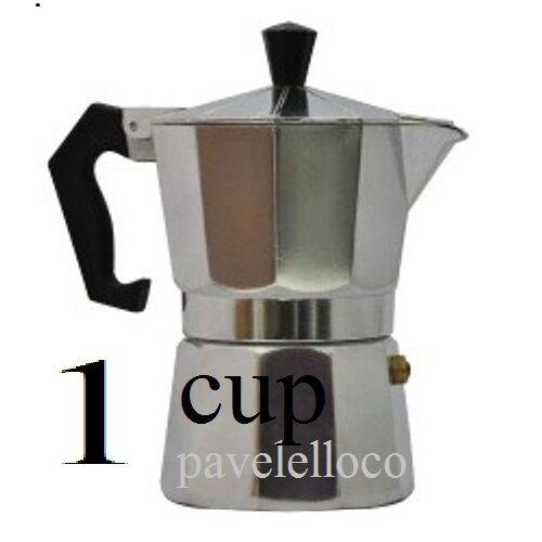 Stove Top Espresso Cuban Coffee Maker Pot Cuccino Latte 1 Cup Cafetera Cubana Ebay