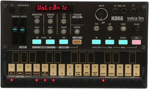 Authorized Dealer KORG VOLCA FM DIGITAL FM SYNTHESIZER