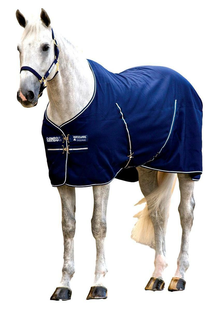 Horseware Ireland Rambo Stable Sheet 1000d Polyester Outer Tail Cord Trim